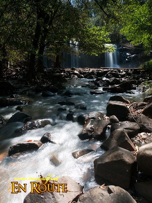 Bolaven Plateau Pa Suam 2nd falls cascade