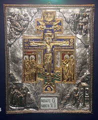 Metal Icon of the Passion (Svadilfari) Tags: museum silver christ cross russia connecticut jesus ct icon passion newhaven russian orthodox 1990 crucifixion knightsofcolumbus kofc gilt jesuschrist conn enamel russianorthodoxchurch russianorthodox newhavenct newhavenconnecticut knightsofcolumbusmuseum newhavenconn