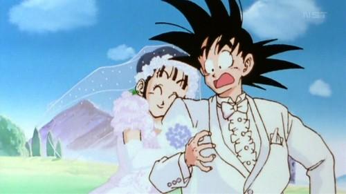 Boda de Goku y Chichi
