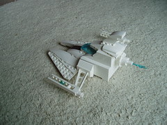 White fighter back (billsmugs) Tags: fighter lego space spaceship