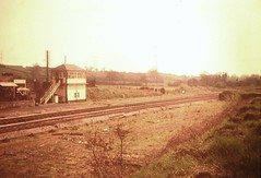 Shortwood Station, Mangotsfield North (emmdee) Tags: station railway 1970s mangotsfield bristolarea