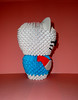 Hello Kitty 3d Origami Model