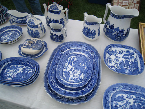 Blue and White China @ Todd's Farm