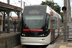 富山ライトレールの「赤い電車」はこれ1本