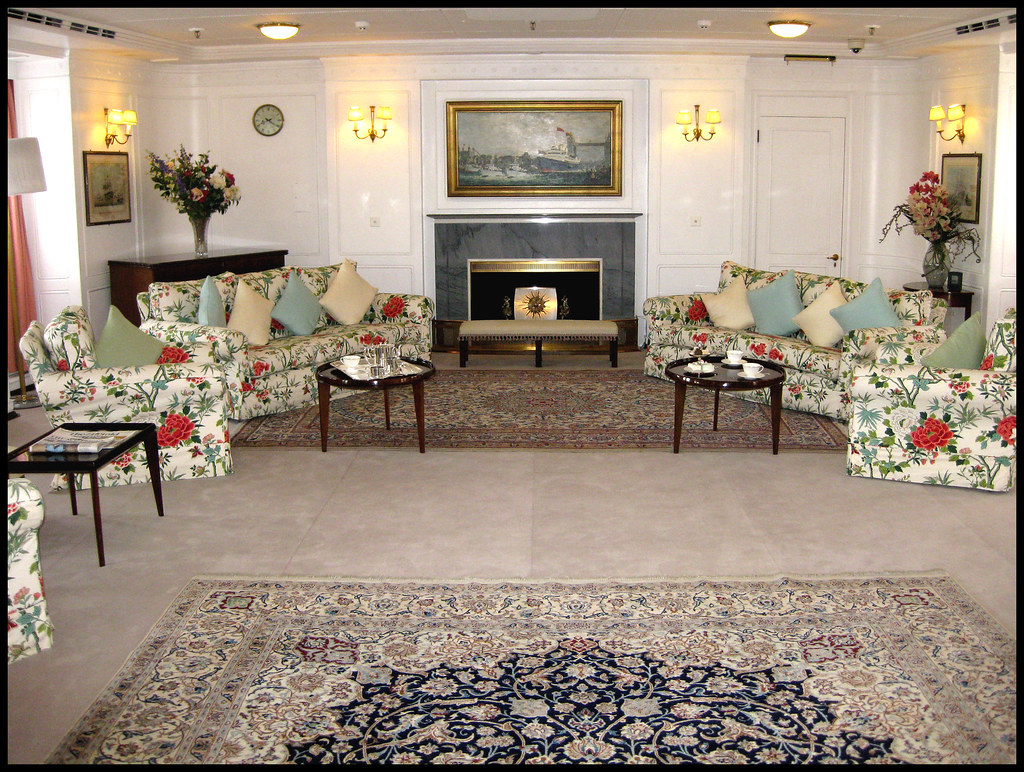 Royal Yacht Brittania - The Drawing Room