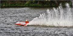 the wake (LesAuld) Tags: st helens powerboats rya carrmill