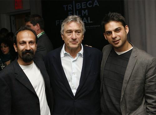 Asghar Farhadi & Robert De Niro