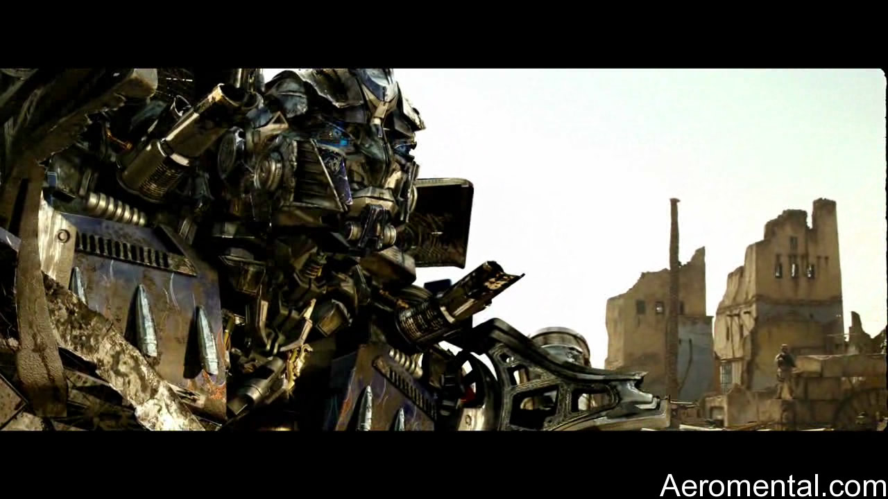 Transformers 2 Optimus Egipto