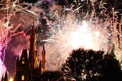 Wishes (Mel(SD)) Tags: orlando florida fireworks parks disney wishes wdw waltdisneyworld magickingdom themeparks cinderellacastle waltdisneyword disneyphotochallenge