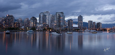 Vancouver, BC Canada (BHagen) Tags: longexposure panorama canada night vancouver nikon britishcolumbia d80 2010olymipcs