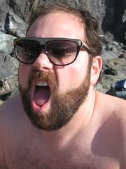 shakey ben (grimlookdknight) Tags: sanfrancisco beach beards bakerbeach