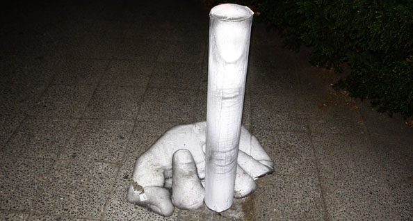 Mentalgassi's Street Art Installations in Berlin