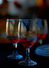 Three's a crowd (.I Travel East.) Tags: blue red glass nikon dof bokeh cgb threesacrowd d80