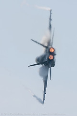 Stay Outta The Kitchen (DustinFinn) Tags: hot fire fly wings tail airshow flame heat thunderbirds f18 jonesbeach vapor goingaway afterburner 14x 1dmk2n 840mm canon600mm