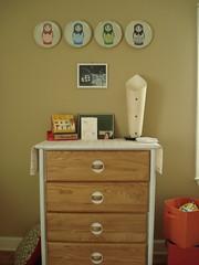 Dresser (stupid clever) Tags: nursery fredflare russiannestingdolls vintagefisherprice harpersroom sallyharlessprint sadlyharmlessetsycom