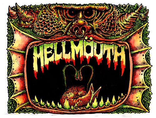Hellmouth color
