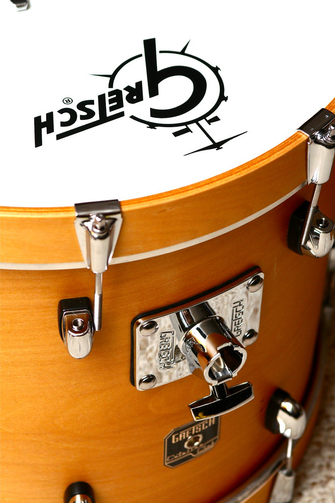 Gretsch Natural Satin 18in Kick