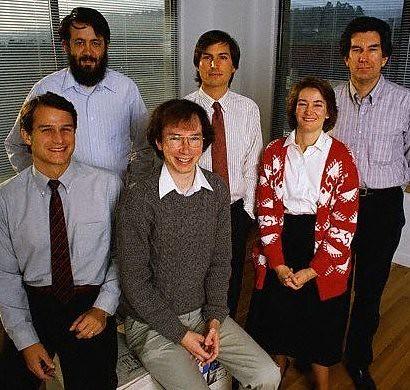 1986: NeXT cofounders