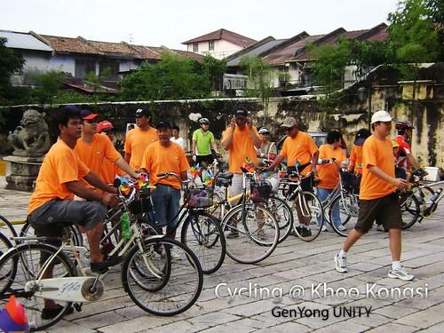 Cycling @ Khoo Kongsi