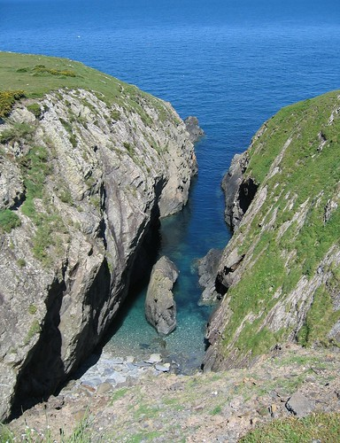 Nice cliffs near Porthgain