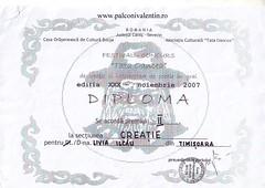 Diploma Livia Ilcau I