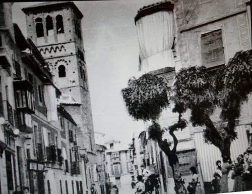 Calle de Santo Tomé (Toledo) en el siglo XIX.
