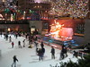 Skaters at the Rockefeller Centre