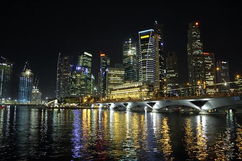 Singarepore Skyline @Night