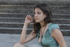 Sui gradini (ANAM-) Tags: woman roma digitale valeria ritratti d300