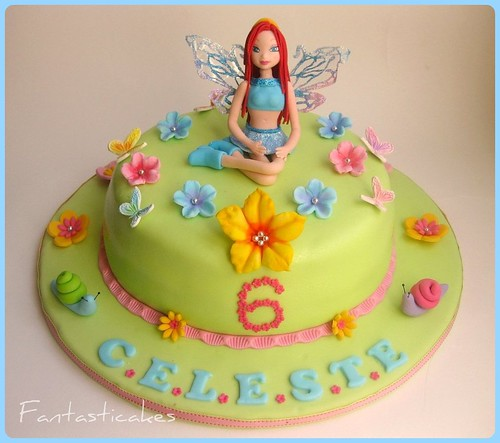 Torta Winx Enchantix (Bloom) / Winx Enchantix Fairy Cake (Bloom)