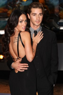 Transformers 2 Londres Megan Fox Shia