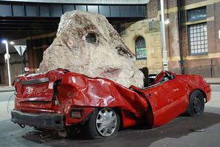 Ouch ! my car :(