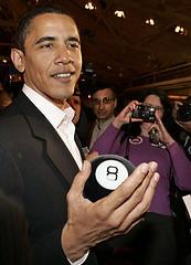 Obama and His Magic 8 Ball