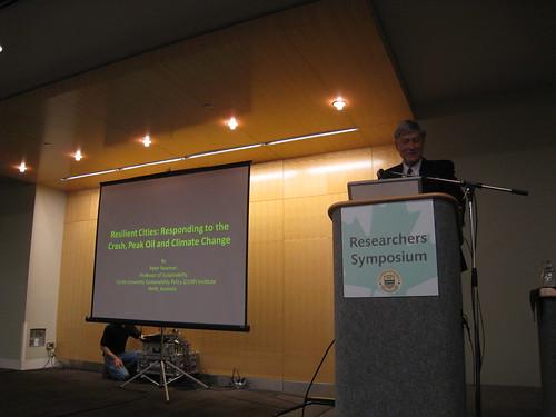 Peter Newman in Edmonton