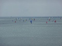 Round the Island Yacht Race 2009 (The Parkie) Tags: isleofwight solent 2009 challenge coasts freshwaterbay
