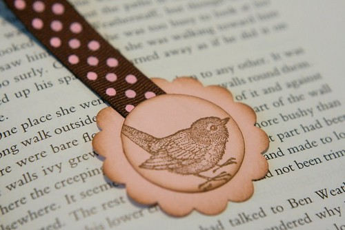Bird Ribbon Bookmark