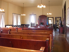 Old Custer County Courtroom