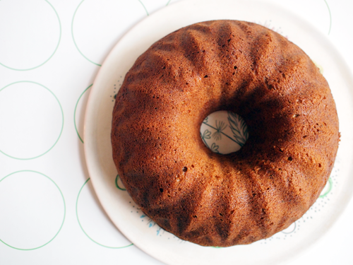 7by7: banana bundt