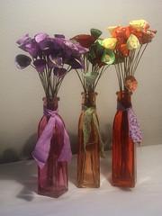Flor do Cerrado (CANELA COOL by CAROL) Tags: flor artesanato patch decoração garrafa