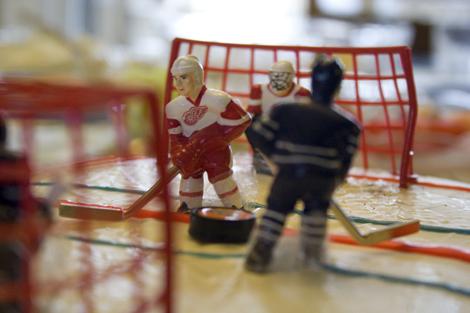 hockey + icing