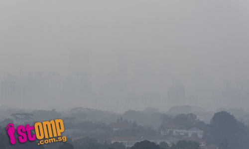 Singapore, the haze is back!