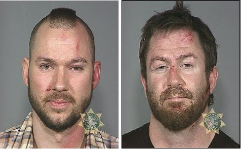 Eric Bechard and Brady Lowe mug shots