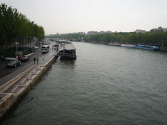 The Seine (Ambernectar 13) Tags: vacation holiday paris france water night river evening may views friday 2010 riverseine 40thbirthdaycelebrations 40thbirthdaycommiserations