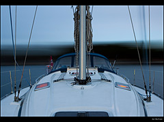 The beginning of a good night (Geir Vika) Tags: boat sail bt vika geir anchored bildekritikk