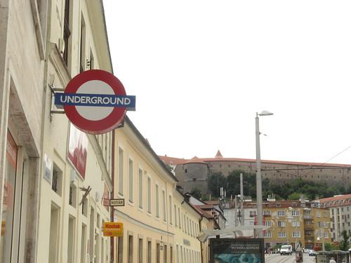 Roundel in Bratislava, Slovakia taken by Nuria
