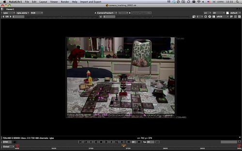 CameraTracker in Nuke: Step 1