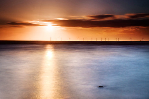 Atomic Sunset III, Crosby. by Ianmoran1970