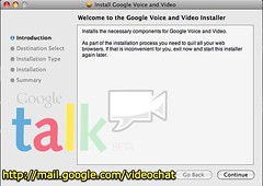 Install Google Voice and Video