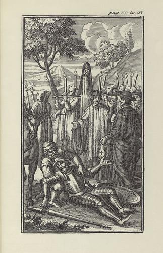 032-Vida y hechos del ingenioso cavallero Don Quixote de la Mancha- Círculo del Bibliófilo editada en 1975- 1713 Paris Compagnie