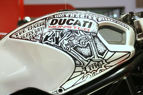 Ducati Monster 696 - Custom Paint